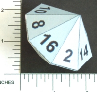 Dice : PAPER D16 MY DESIGN