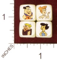 Dice : MINT36 HOMEMADE THE FLINTSTONES