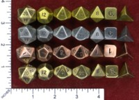 Dice : MINT46 CRYSTAL CASTE METAL ANTIQUE