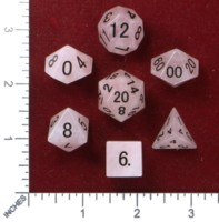 Dice : MINT46 THE DICE SHOP ONLINE QUARTZ ROSE