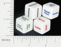 Dice : NON NUMBERED OPAQUE ROUNDED SOLID SCENARIODICE DOT COM 03 EMT DICE 01