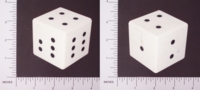 Dice : LG PLASTIC OPAQUE ROUNDED SOLID UNKNOWN 01
