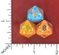 Dice : MINT52 CHESSEX D8 FROM POUND