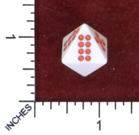 Dice : MINT50 UNKNOWN CHINESE PIPPED D8 RECOLOR