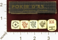 Dice : MINT27 UNKNOWN LOTERIE NATIONALE POKER 01