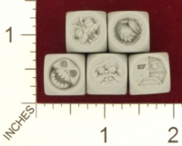 Dice : MINT21 MAOW MINIATURES MONSTER DICE SET 03