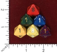 Dice : MINT46 CHESSEX D8