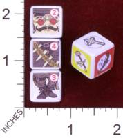 Dice : MINT30 PRINT AND PLAY PRODUCTIONS CHUNKY FIGHTERS LEGENDARY FIGHTER 01