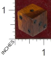 Dice : MINT36 GRYPHON DESIGN STUDIOS GRENADILLO GRENADA COCOS RED EBONY
