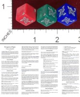 Dice : MINT41 TOM WILFONG CUSTOM DICE FOR HORROR THEMED ARKHAM AND ELDRITCH GAMES