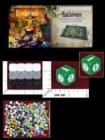 Dice : MINT47 RIO GRANDE GAMES RATTLEBONES