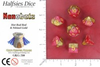Dice : MINT52 GATE KEEPER GAMES HALFSIES DICE NANOBOTS