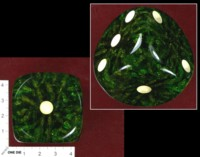 Dice : MINT36 UNKNOWN HUGE GREEN FRACTURED