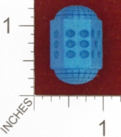 Dice : MINT24 SHAPEWAYS DIZINGOF CYLINDRICAL DICE D6 01