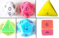 original TSR D&D Boxed Set Dice
