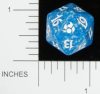 Dice : D20 OPAQUE ROUNDED SPECKLED MTG LIFE COUNTERS MORNINGTIDE 03
