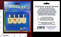 Dice : MINT37 ISRAEL GIFTWARE DESIGNS DREIDEL WOOODEN