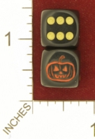 Dice : MINT26 CHESSEX CUSTOM FOR JSPASSNTHRU JACK O LANTERN 01