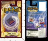 Dice : MINT23 MATTEL HARRY POTTER DICERS SORCERS STONE