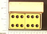 Dice : LG PLASTIC2 1.5IN BOXED