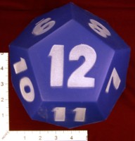 Dice : FOAM2 EAI EDUCATON JUMBO QUIETSHAPE POLYHEDRA DIE 12 SIDED 01