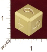 Dice : MINT21 ACE PRECISION BRASS NUMBERED