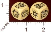 Dice : MINT29 IRON CROWN ENTERPRISES CITIES OF DOOM ACTION DICE RUNE STEALER DICE 01