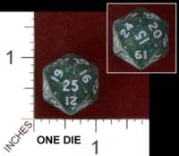 Dice : D20 OPAQUE ROUNDED GLITTER UNKNOWN 01