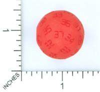 Dice : MINT53 SHAPEWAYS POSH FROSH D37 ODD BALL DIE