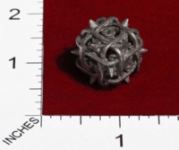 Dice : MINT23 SHAPEWAYS CERAMICWOMBAT THORN DIE6 02