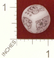 Dice : MINT25 SHAPEWAYS DIZINGOF ANCIENT MAYAN D6 DICE 01