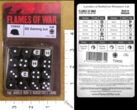 Dice : MINT34 FLAMES OF WAR TD033 SS GAMING 01