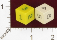 Dice : NUMBERED OPAQUE SHARP SOLID ARMORY 02