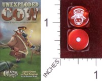 Dice : MINT35 CHEAPASS GAMES UNEXPLODED COW