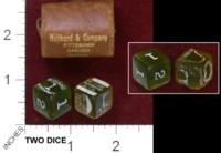 Dice : MINT37 HUBBARD AND COMPANY