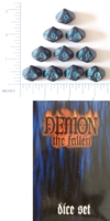 D10 OPAQUE ROUNDED IRIDESCENT WW DEMON