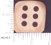 Dice : WOOD UNKNOWN 08