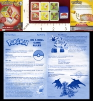 Dice : MINT20 PRESSMAN POKEMON ON A ROLL