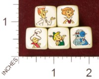 Dice : MINT36 HOMEMADE THE JETSONS