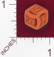 Dice : MINT23 SHAPEWAYS CERAMICWOMBAT ROUND DIE6 01