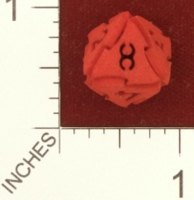 Dice : MINT25 SHAPEWAYS AEGIDIAN TOCRAX EIGHT SIDED DIE 01