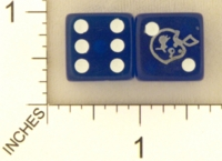 Dice : MINT20 DETROIT LIONS