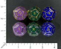 Dice : MINT58 UNKNOWN CHINESE ASTROLOGY METAL