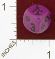 Dice : MINT25 UNCONVENTIONAL DICE BRITISH GR3 HARRIER 01