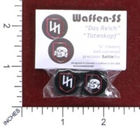 Dice : MINT50 BATTLESCHOOL WAFFEN SS 2ND AND 3RD PANZER