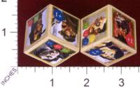 Dice : MINT30 PRINT AND PLAY PRODUCTIONS AETHER CAPTAINS CHARACTER DICE 01
