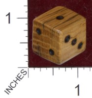 Dice : MINT36 GRYPHON DESIGN STUDIOS OAK WHITE 80 YEARS OLD