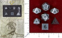 Dice : MINT46 NORSE FOUNDRY STEEL AGED MITHRAL
