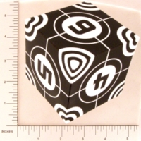 Dice : PAPER D06 Q-WORKSHOP DICE DESIGN CONTEST NOVEMBER 2007 THOMAS PASIEKA 02 CROSS HAIRS