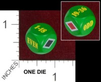 Dice : MINT40 UNKNOWN ROULETTE